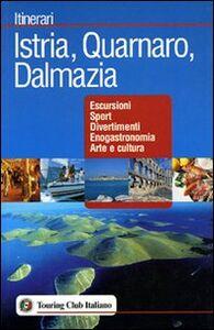 Libro Istria, Quarnaro, Dalmazia