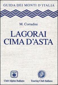 Libro Lagorai Cima d'Asta Mario Corradini