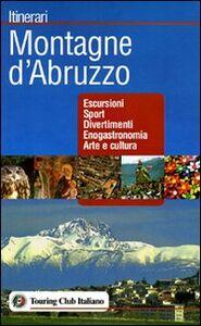 Libro Montagne d'Abruzzo