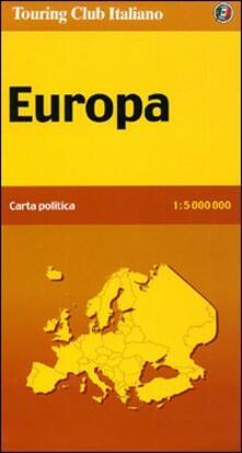 Warholgenova.it Europa politica 1:5.000.000 Image