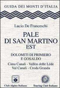 Libro Pale di San Martino est