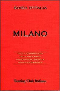 Foto Cover di Milano, Libro di  edito da Touring