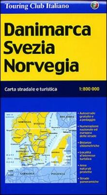 Amatigota.it Danimarca, Svezia, Norvegia 1:800.000 Image