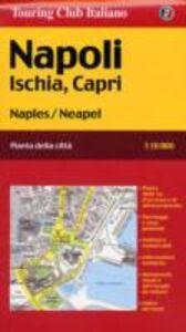 Libro Napoli, Ischia, Capri 1:10.000