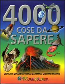 Ristorantezintonio.it Quattromila cose da sapere. Ediz. illustrata Image