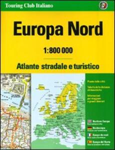 Europa nord. Atlante stradale e turistico 1:800.000