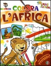Colora l'Africa. Con stickers