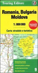 Foto Cover di Romania. Bulgaria. Moldavia 1:800.000, Libro di  edito da Touring