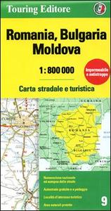 Libro Romania. Bulgaria. Moldavia 1:800.000