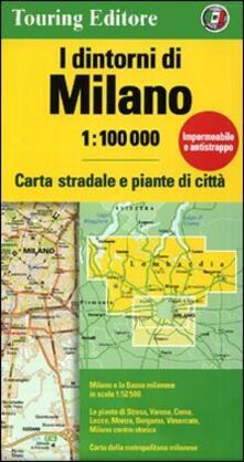 Secchiarapita.it I dintorni di Milano 1:100.000 Image