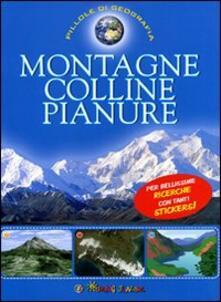 Winniearcher.com Montagne, colline, pianure. Con adesivi. Ediz. illustrata Image