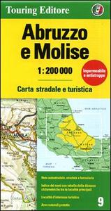 Libro Abruzzo, Molise 1:200.000