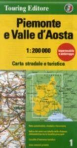 Libro Piemonte e Valle d'Aosta 1:200.000