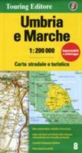 Libro Umbria, Marche 1:200.000