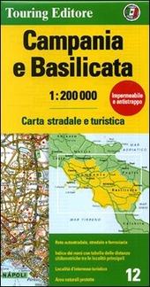 Campania e Basilicata 1:200.000