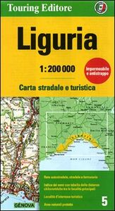 Libro Liguria 1:200.000