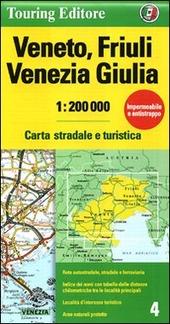 Veneto, Friuli Venezia Giulia 1:200.000