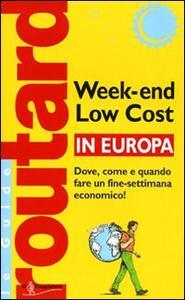 Week-end low cost in Europa