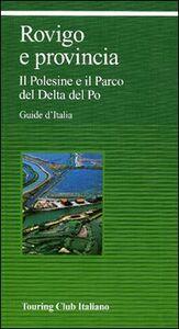 Libro Rovigo e provincia. Il Polesine e il Parco del Delta del Po