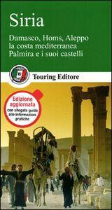 Foto Cover di Siria, Libro di  edito da Touring