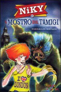 Libro Niky e il mostro del Tamigi Mariagrazia Bertarini