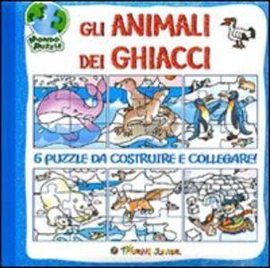 Libro Gli animali dei ghiacci. Libro puzzle Irene Mazza
