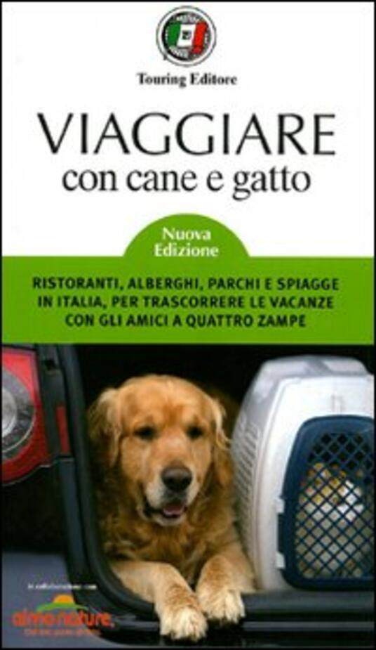 Viaggiare con cane e gatto - copertina