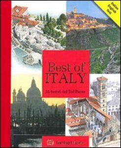 Libro Best of Italy. 25 tesori del Bel Paese  0