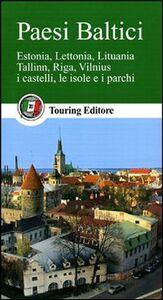 Foto Cover di Paesi baltici, Libro di  edito da Touring