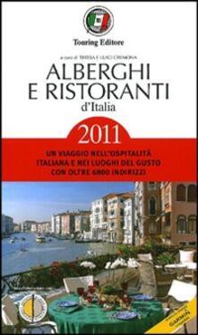 Criticalwinenotav.it Alberghi e ristoranti d'Italia 2011 Image