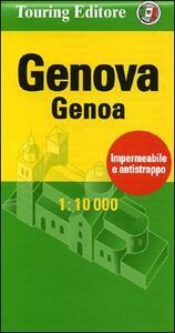 Genova-Genoa 1:10.000. Ediz. italiana e inglese