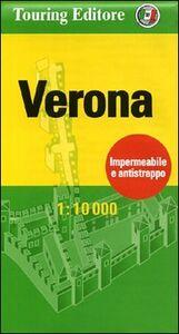 Foto Cover di Verona 1:10.000. Ediz. italiana e inglese, Libro di  edito da Touring