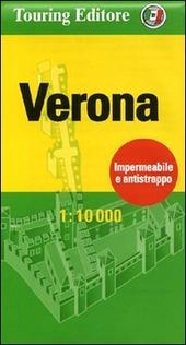 Verona 1:10.000. Ediz. italiana e inglese
