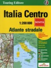 Atlante stradale d'Italia. Centro 1:200.000