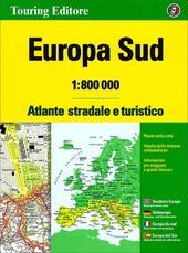 Europa sud. Atlante stradale e turistico 1:800.000