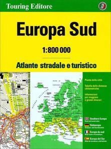Milanospringparade.it Europa sud. Atlante stradale e turistico 1:800.000 Image