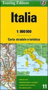 Libro Italia 1:800.000. Carta stradale e turistica. Ediz. multilingue