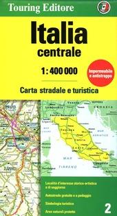 Italia centrale 1:400.000. Carta stradale e turistica