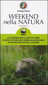 Libro Weekend nella natura