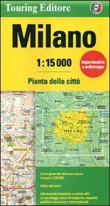 Libro Milano 1:15.000. Pianta della città