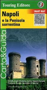 Libro Napoli e la penisola sorrentina 1:175.000