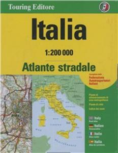 Libro Atlante stradale Italia 1:200.000. Cofanetto