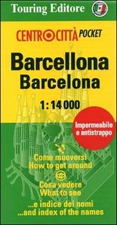 Barcellona-Barcelona 1:14.000. Ediz. italiana e inglese