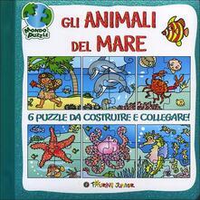 Warholgenova.it Gli animali del mare. Libro puzzle Image