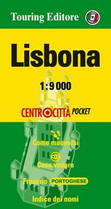Libro Lisbona 1:9.000. Ediz. italiana e inglese
