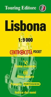 Lisbona 1:9.000. Ediz. italiana e inglese