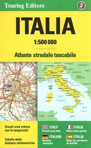Libro Italia Atlante stradale tascabile 1:500.0000. Ediz. multilingue