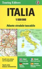 Italia Atlante stradale tascabile 1:500.0000