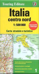 Libro Italia centro nord 1:500.000. Carta stradale e turistica