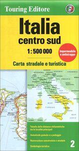 Libro Italia centro sud 1:500.000. Carta stradale e turistica